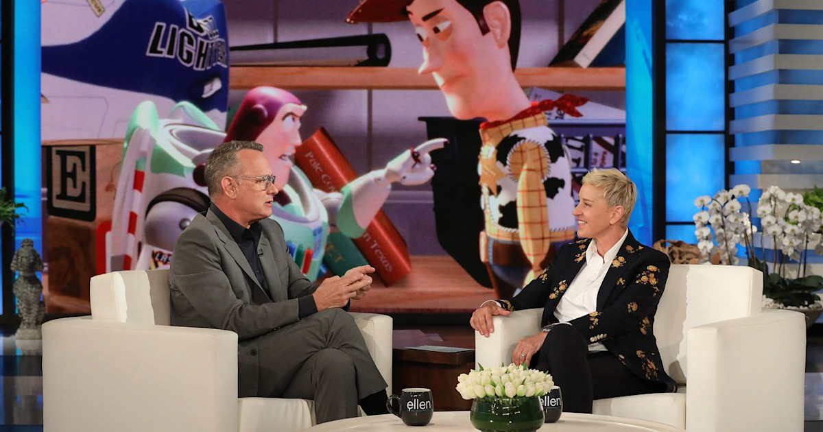 Tom Hanks says he was warned about emotional ending of 'Toy Story 4'