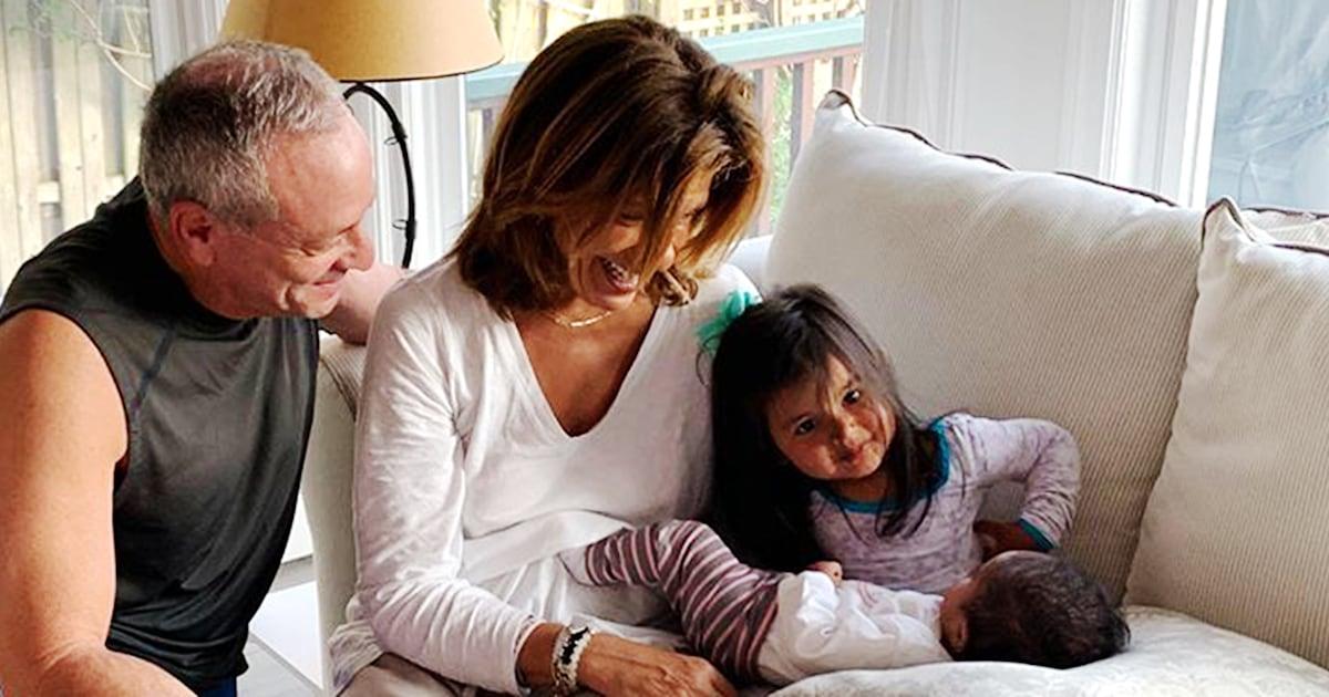 Hoda Kotb shares adorable photos of Haley Joy and Hope Catherine