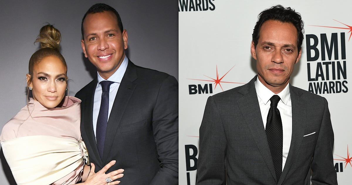 Alex Rodriguez sits between Jennifer Lopez and Marc Anthony at school recital