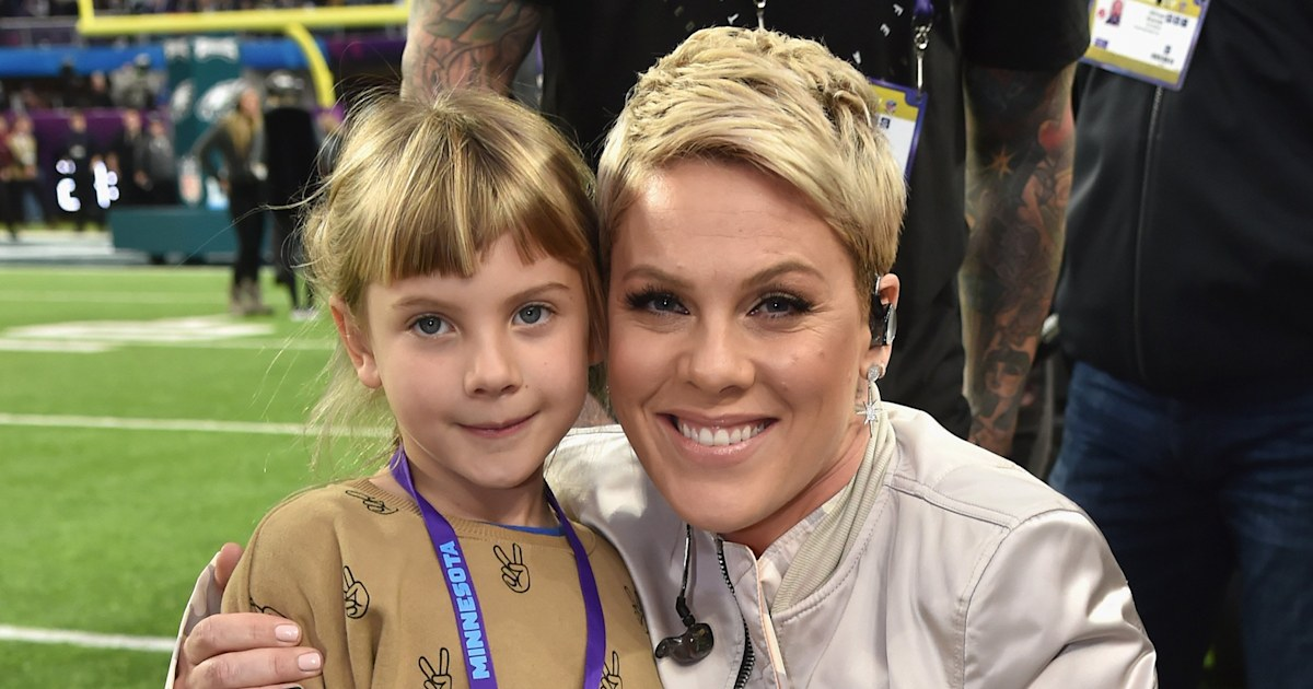 Pink 'embarrasses' daughter Willow with high-flying stunt at her birthday