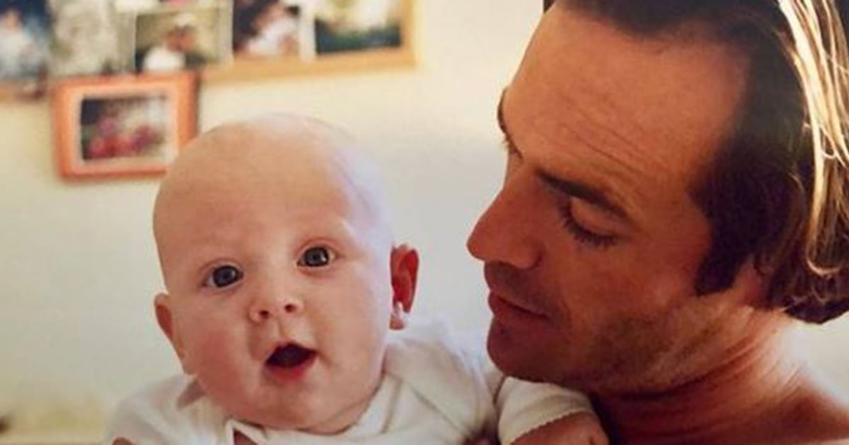 Luke Perry's daughter shares sweet childhood photos of her with her dad