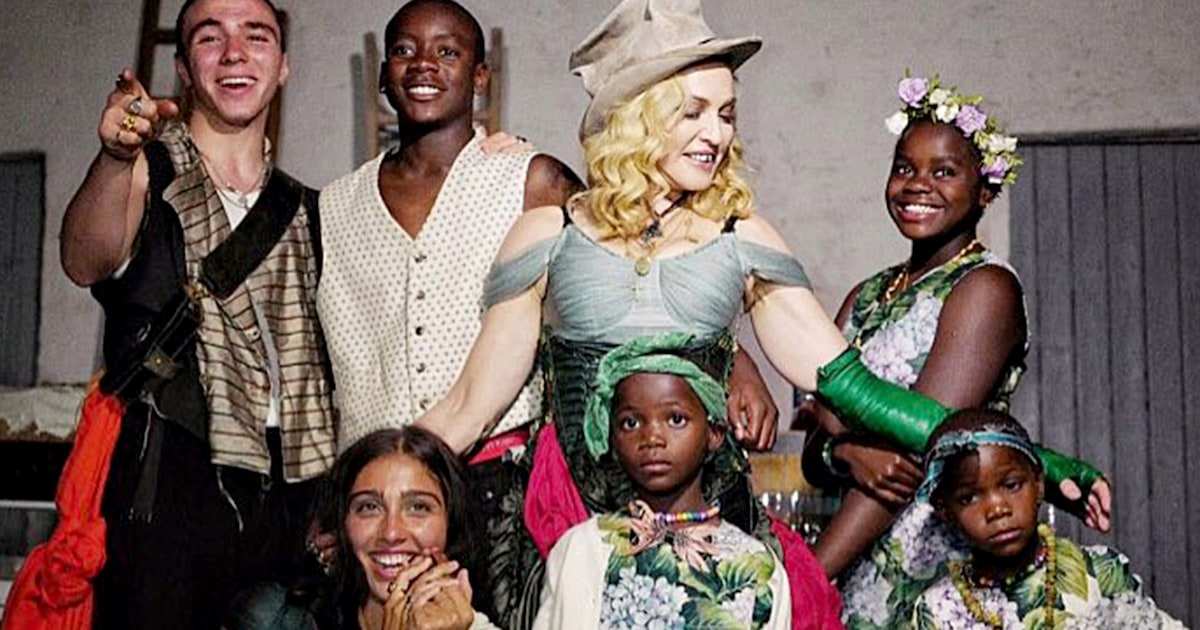 Will Madonna, a mom of 6, have more kids? 'Never say never'