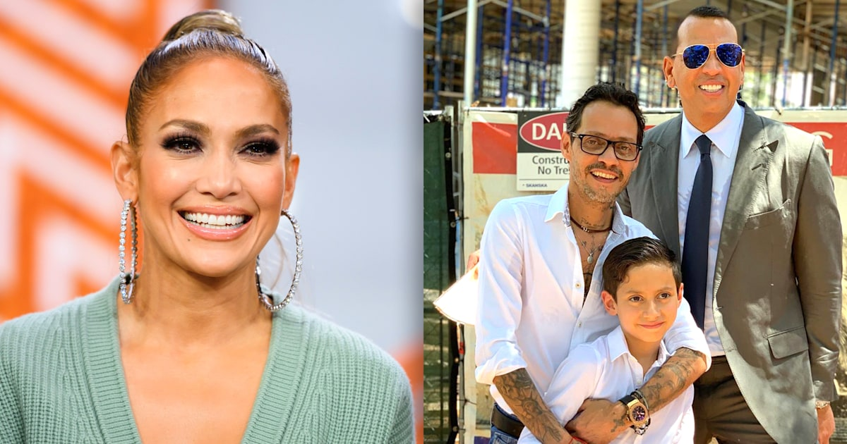 Jennifer Lopez Honors Alex Rodriguez And Marc Anthony On Father S Day