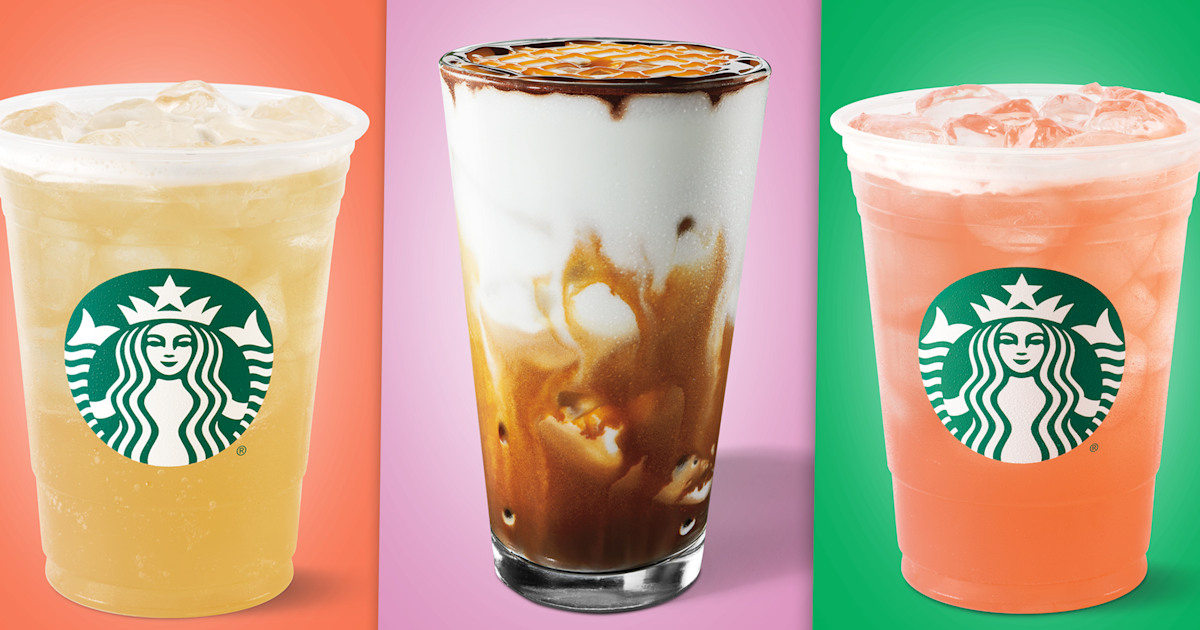 Starbucks Just Unleashed 4 New Colorful Drinks For Summer