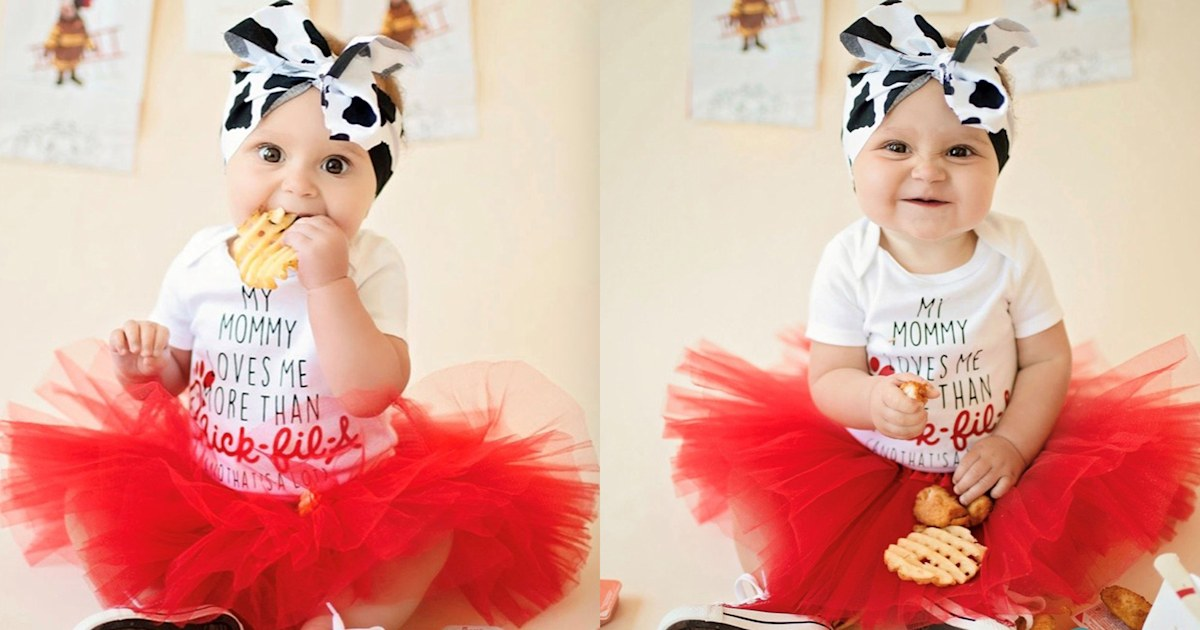 Chick-fil-A-loving mom staged chicken-themed photoshoot for her daughter