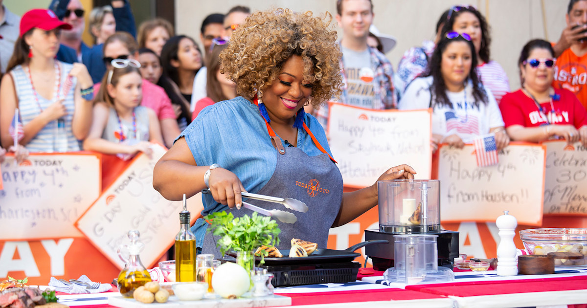 From dry rubs to potato salad, Sunny Anderson shares her best barbecue tips