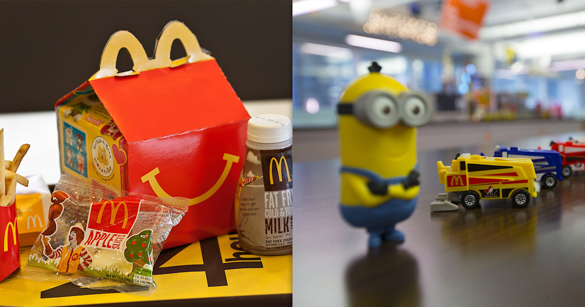 Over 300,000 people want McDonald's to stop using plastic Happy Meal toys