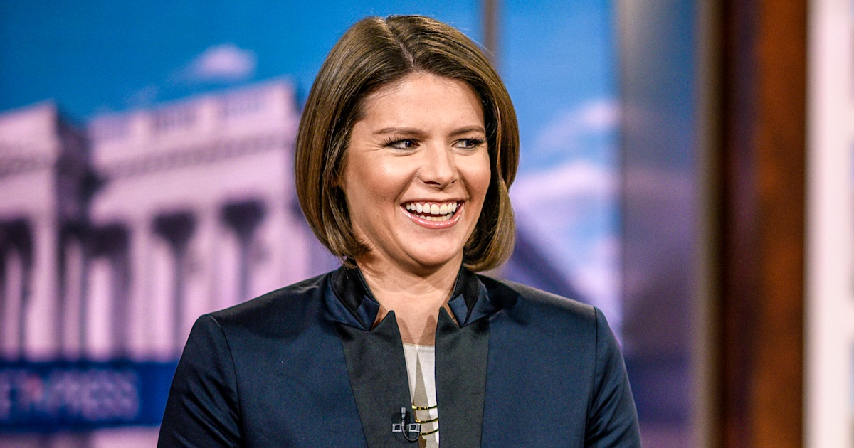 Pregnant MSNBC host Kasie Hunt fires back at troll who called her 'so fat'