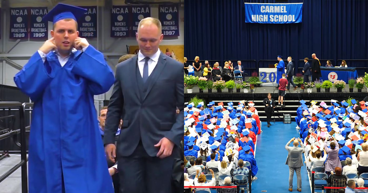 High school honors student with autism by having silent graduation
