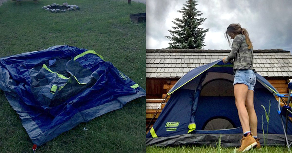 This bestselling tent took 10 minutes to set up — and it's under $50