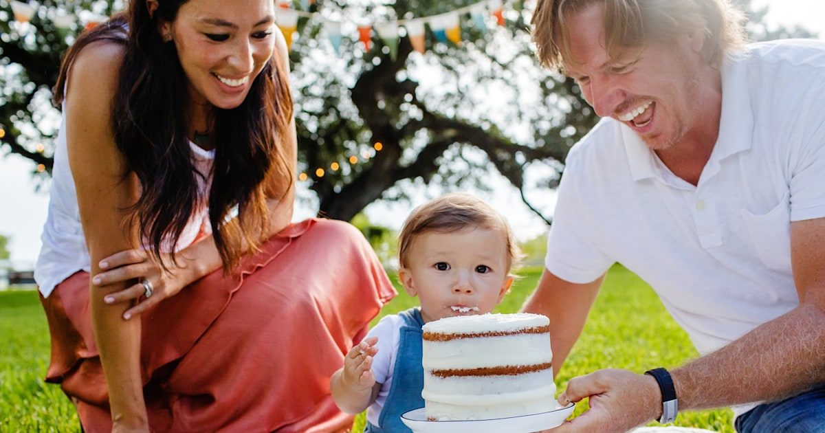 Joanna and Chip Gaines share sweet photos from baby Crew's 1st birthday