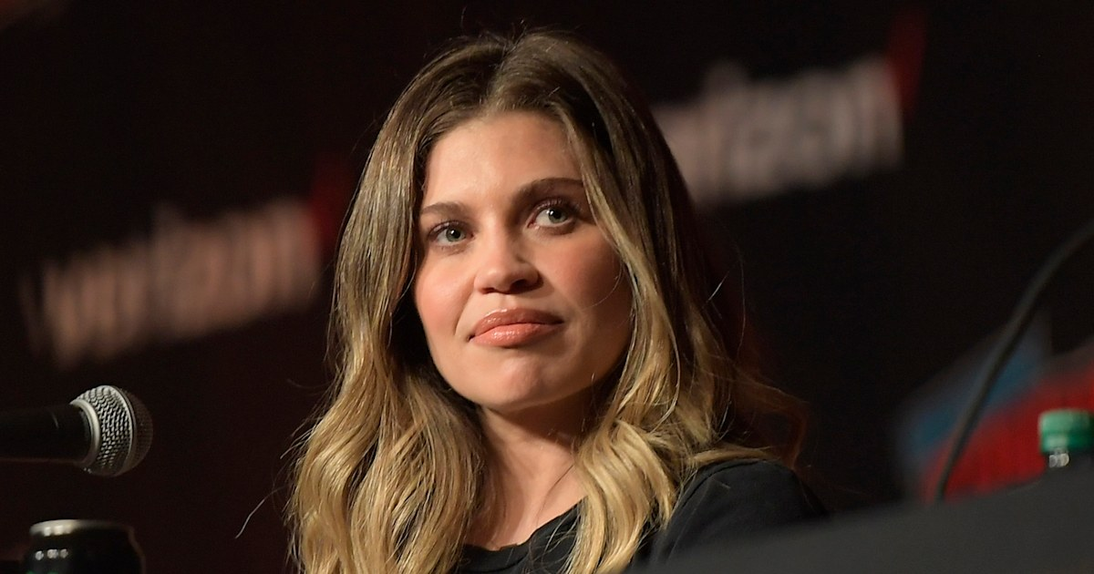 Danielle Fishel shares health update on newborn son Adler