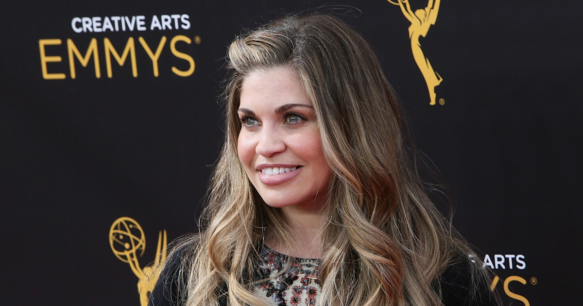 Danielle Fishel gets real about first-time motherhood