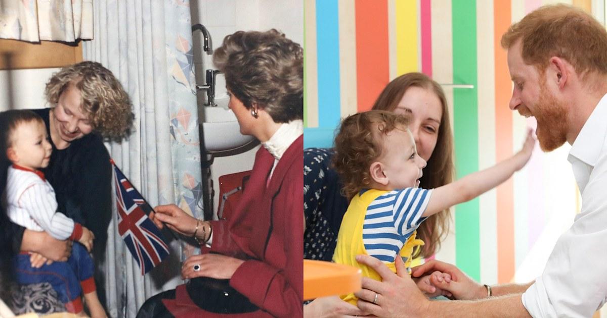 Prince Harry returns to same hospital Princess Diana visited 30 years ago