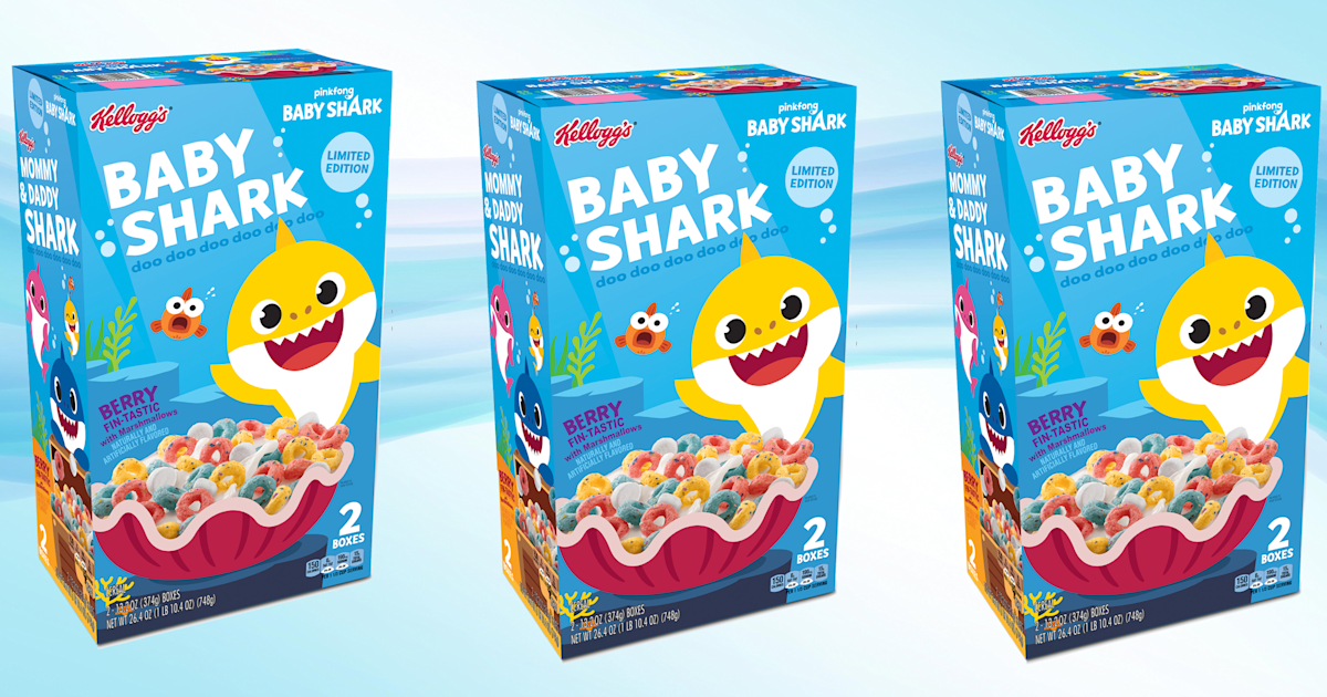 'Baby Shark' cereal is a thing now — here's what it tastes like