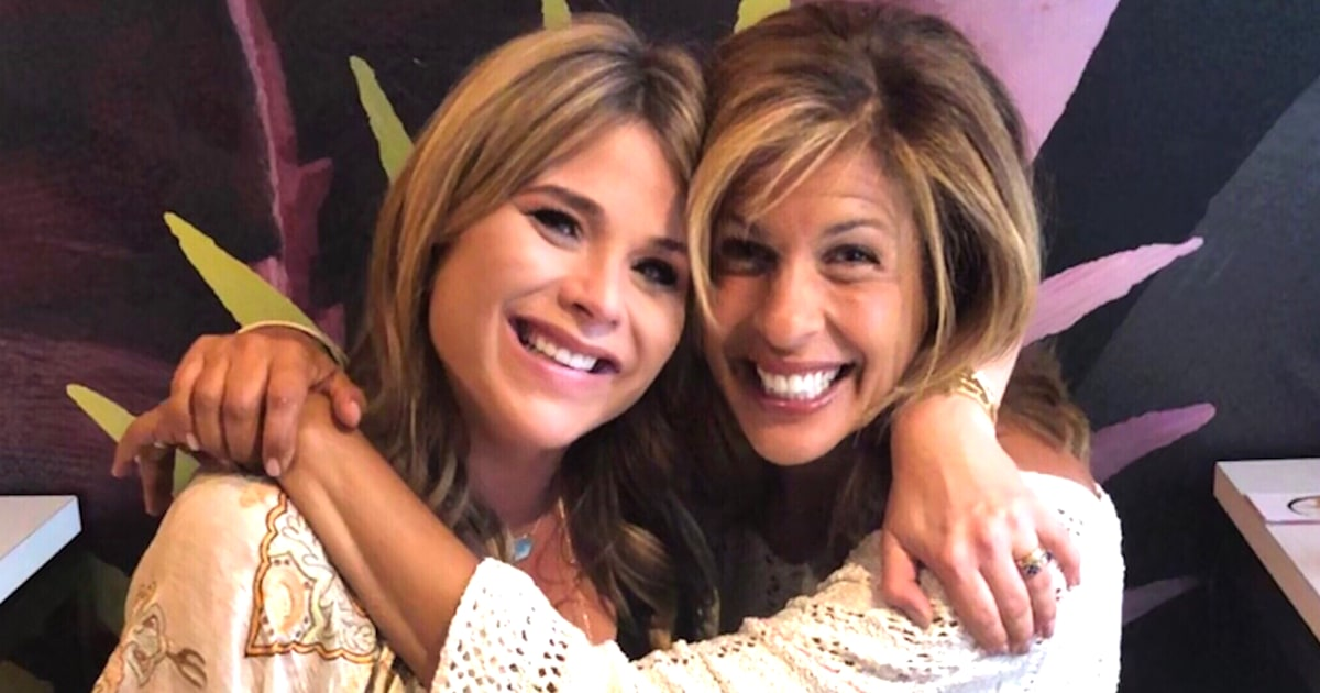 Jenna Bush Hager shares baby shower note from Hoda Kotb