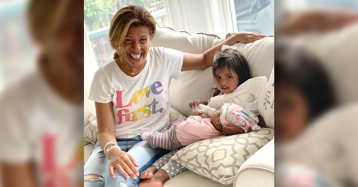 Hoda Kotb talks joy of maternity leave