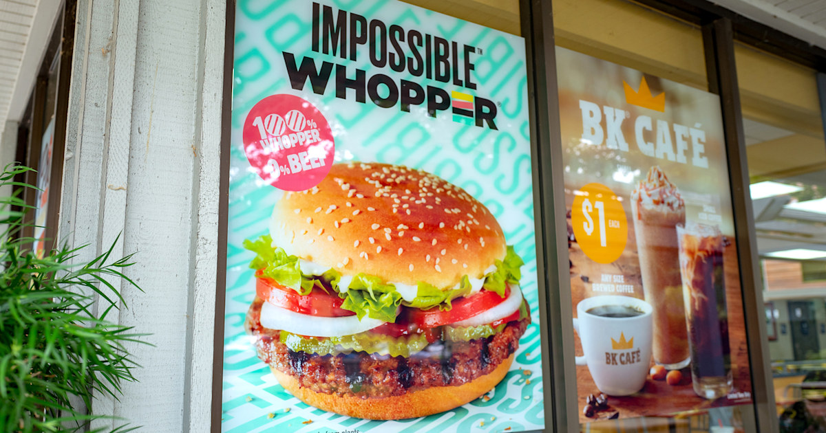Why Burger King's new Impossible Whopper isn't totally