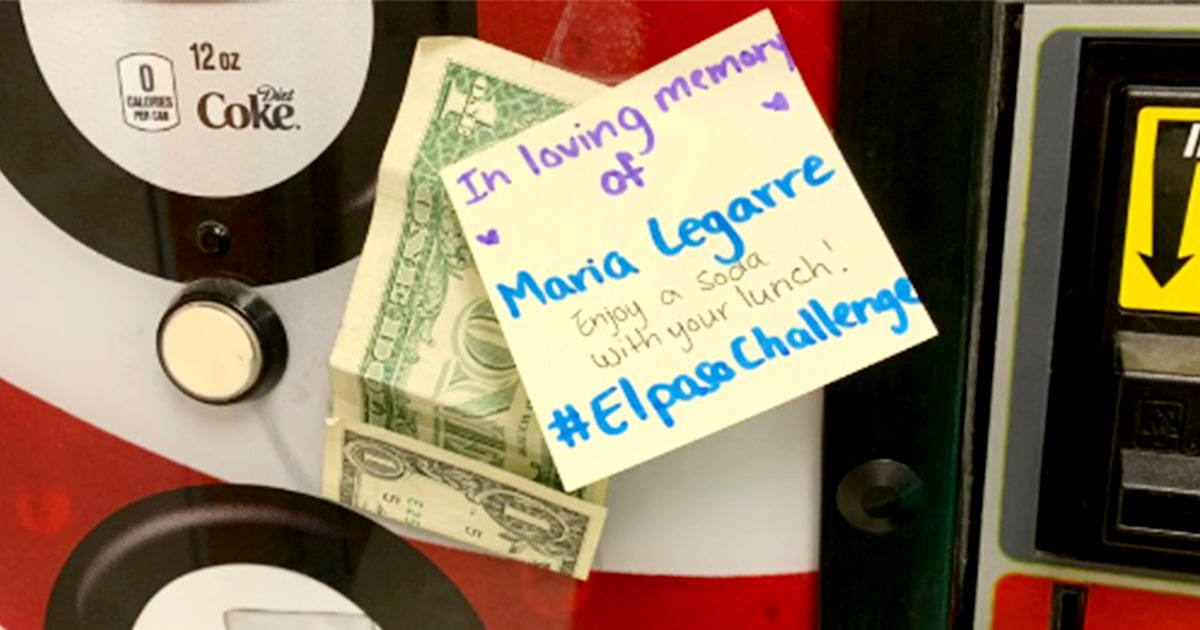 El Paso Challenge spreads acts of kindness inspired by one boy