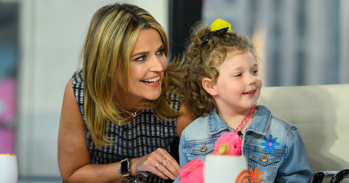 Savannah Guthrie wishes daughter Vale a happy 5th birthday