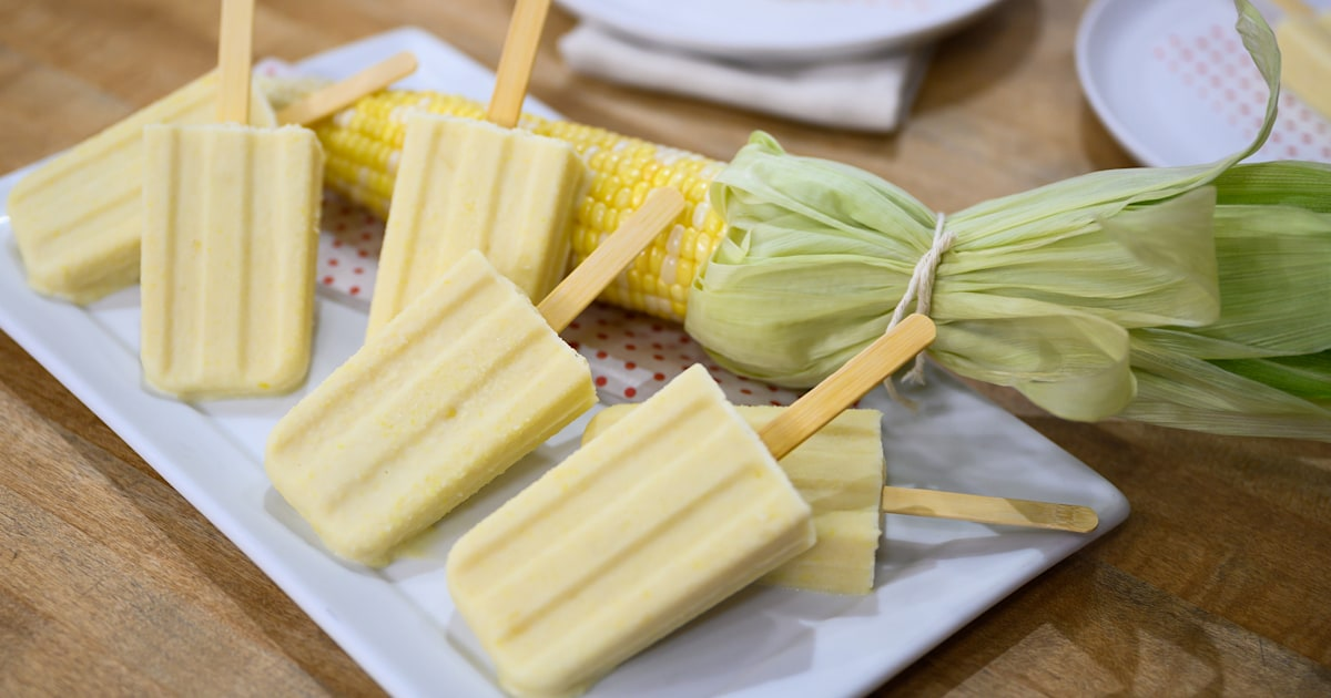 Best corn recipes: Katie Lee's chowder and ice pops - TODAY