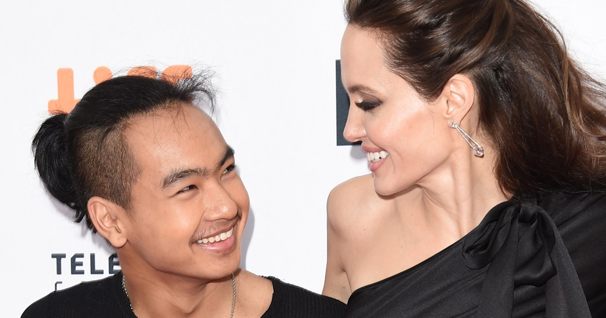Angelina Jolie had an 'ugly cry' when she dropped son Maddox off at college