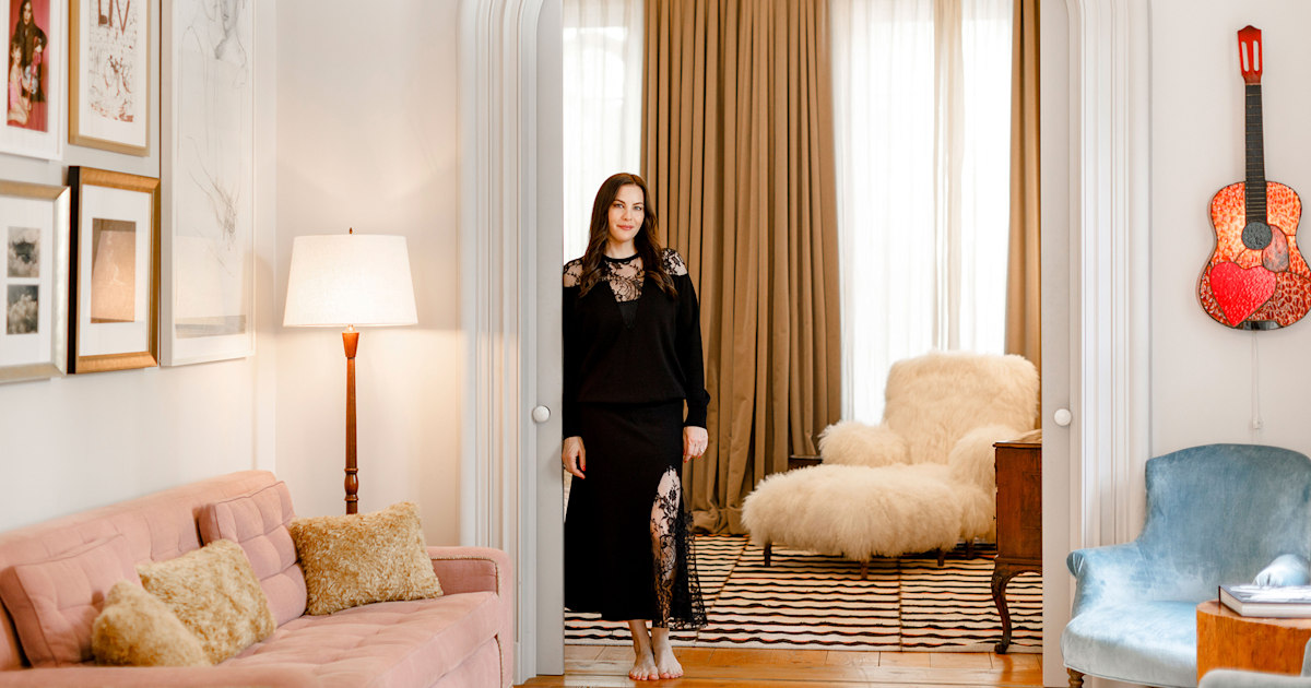 Liv Tyler's townhouse is as stylish and whimsical as you'd imagine