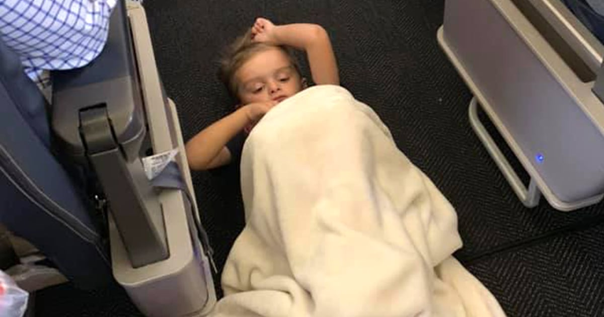 See what happened when a boy with autism couldn't sit still on a plane