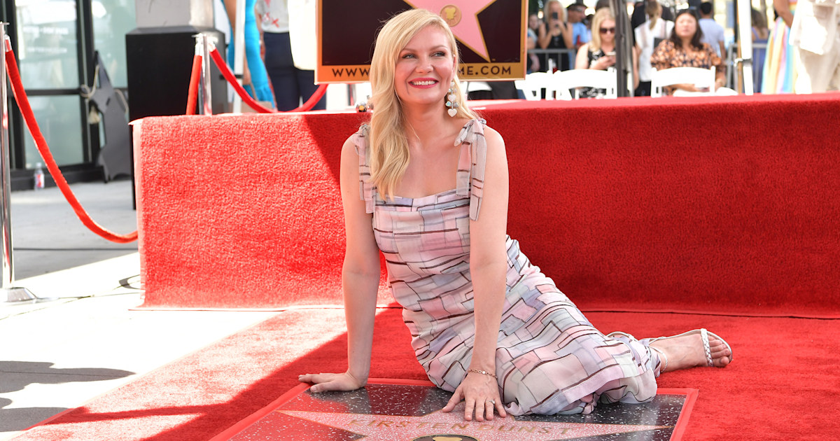 Kirsten Dunst's son makes rare appearance at Hollywood Walk of Fame ceremony