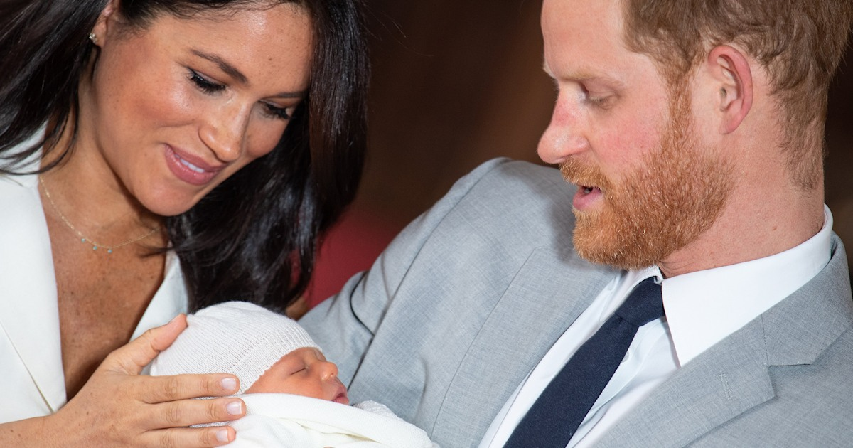 Prince Harry shares sweet message about Meghan Markle and baby Archie before Africa tour