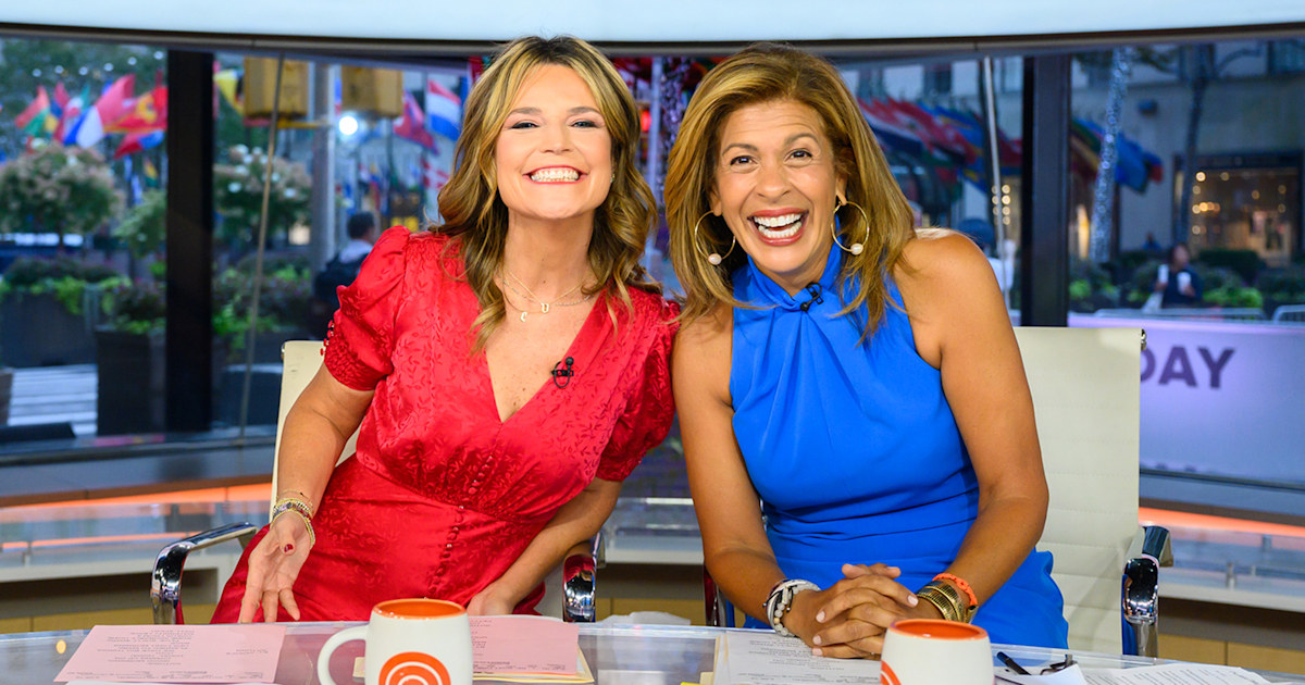 Hoda Kotb returns to TODAY show after maternity leave