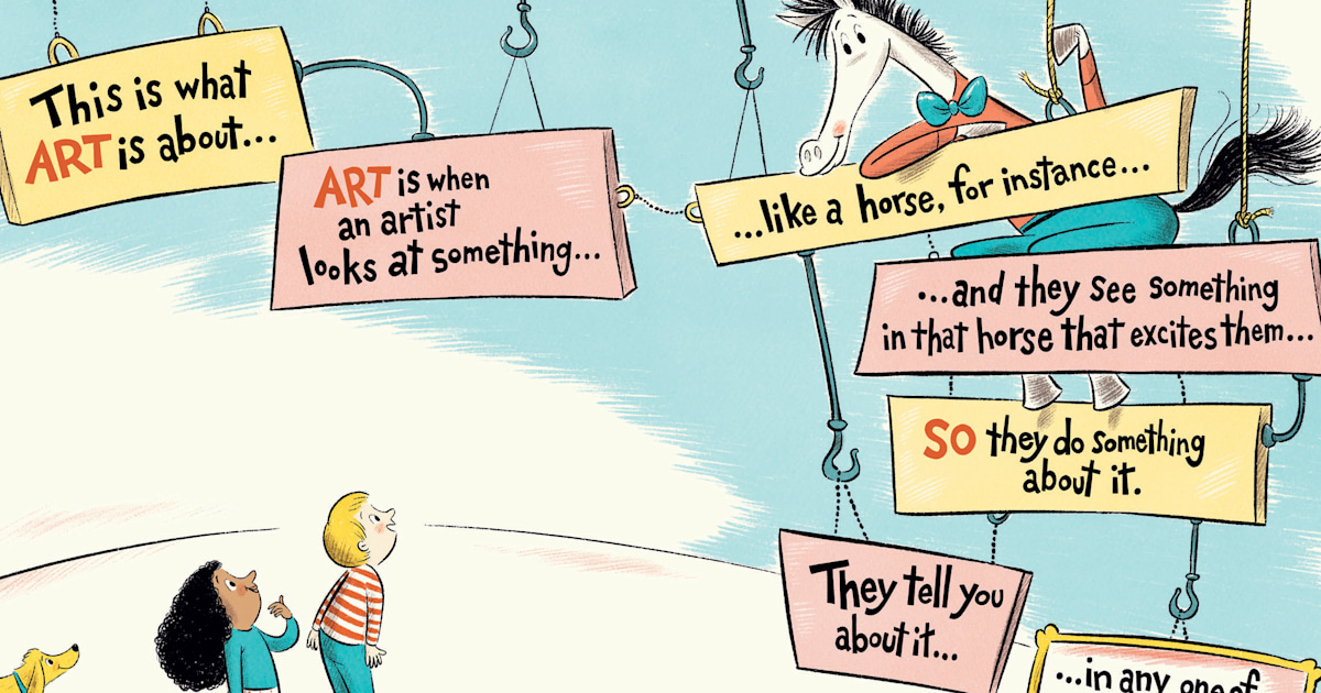 New Dr. Seuss book is hitting the shelves! Get an inside look at 'Horse Museum'