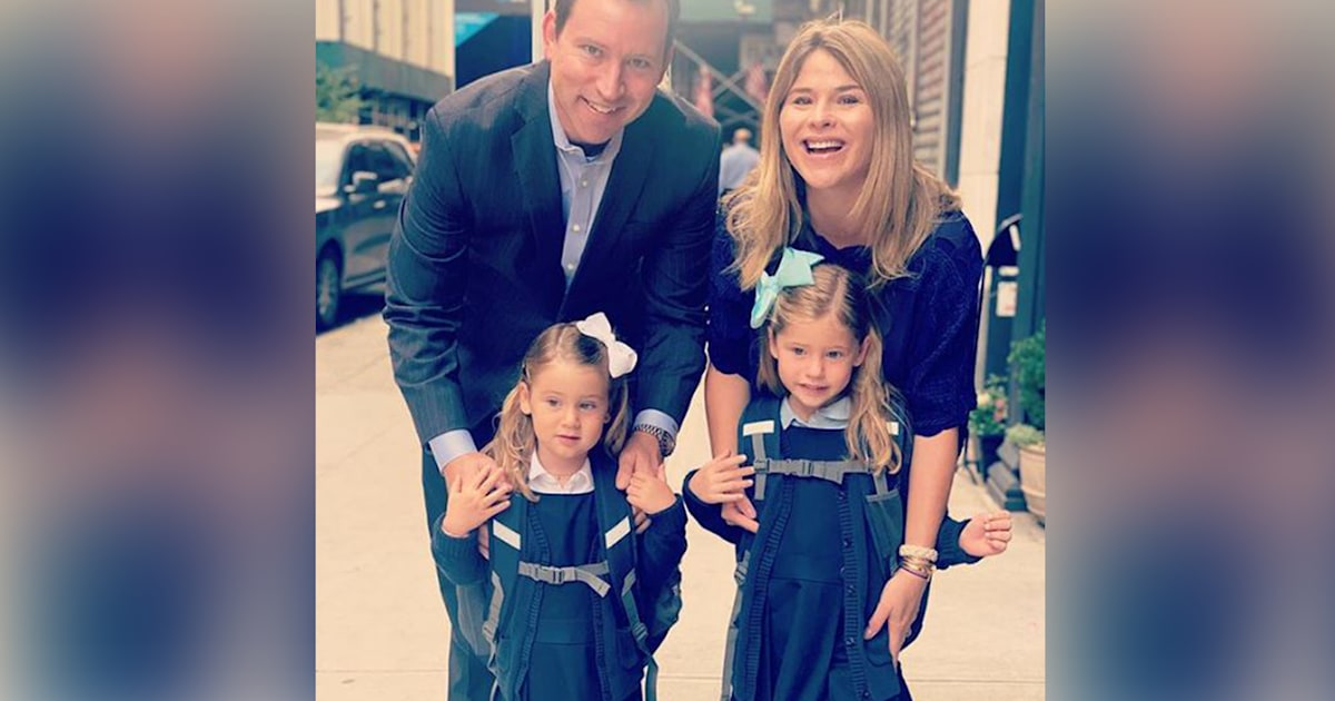 Jenna Bush Hager shares photos of Mila and Poppy going back to school
