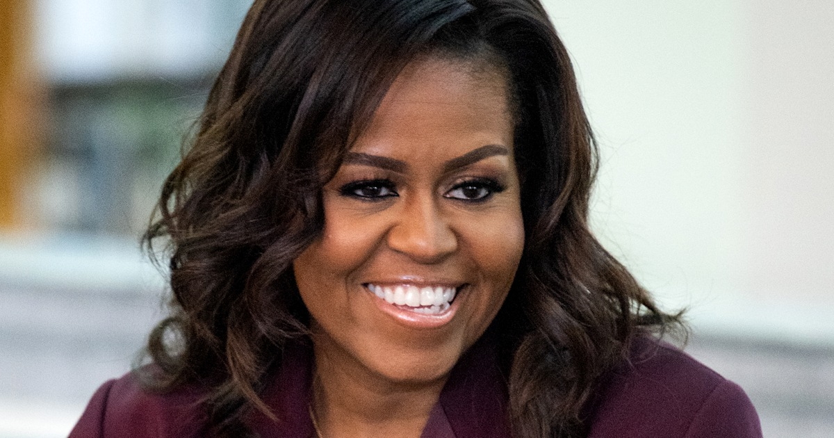 Michelle Obama shares back-to-school throwback pic with an empowering message