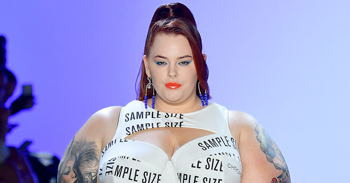 Tess Holliday just made a powerful statement about sizes on the runway