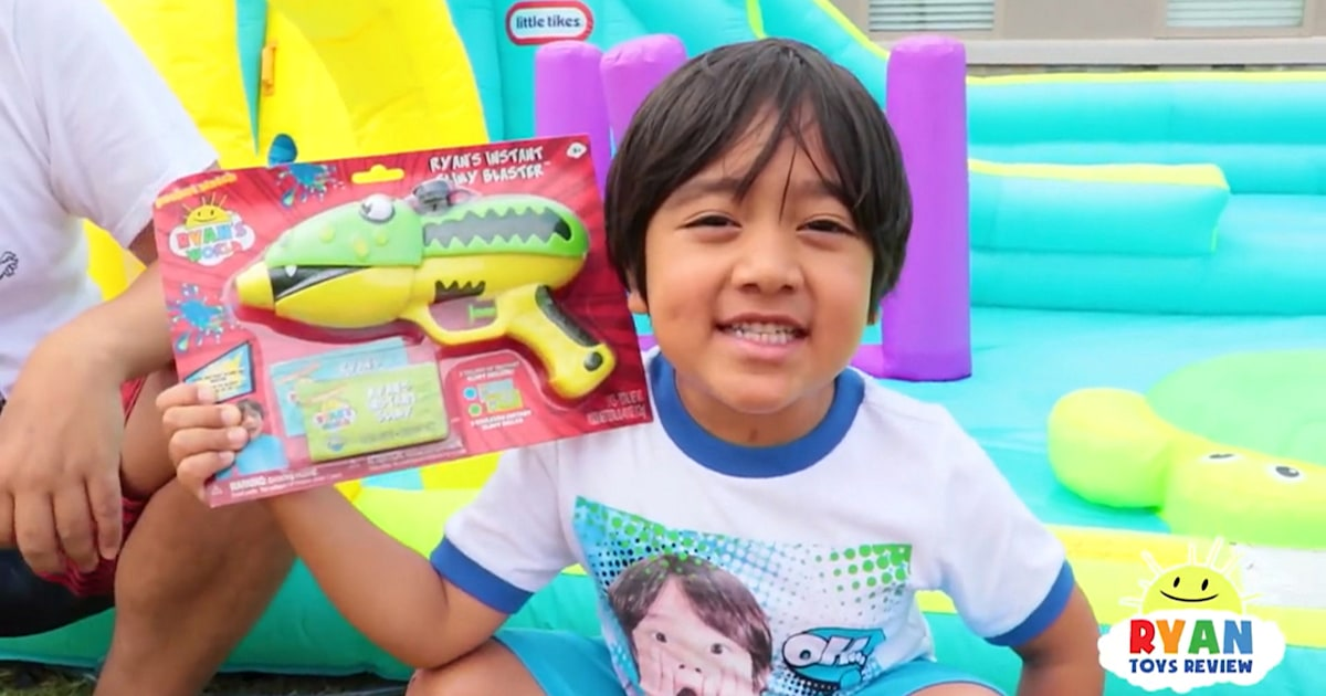 Ryan ToysReview accused of misleading preschoolers with paid content