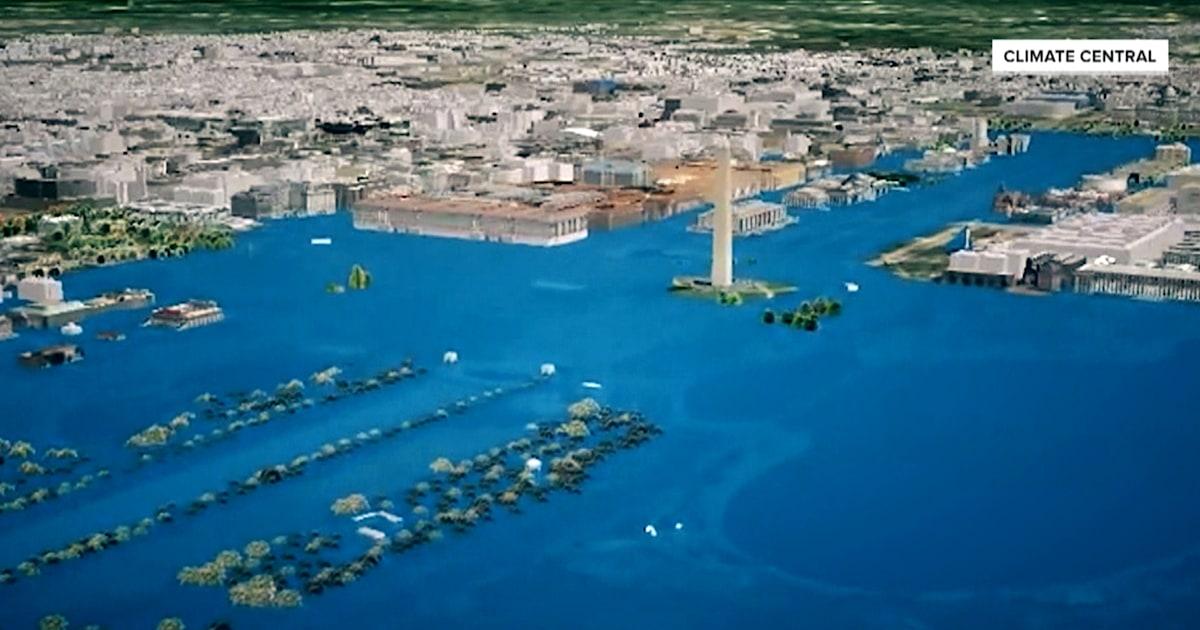 Al Roker explores climate change threat on US landmarks - Today.com