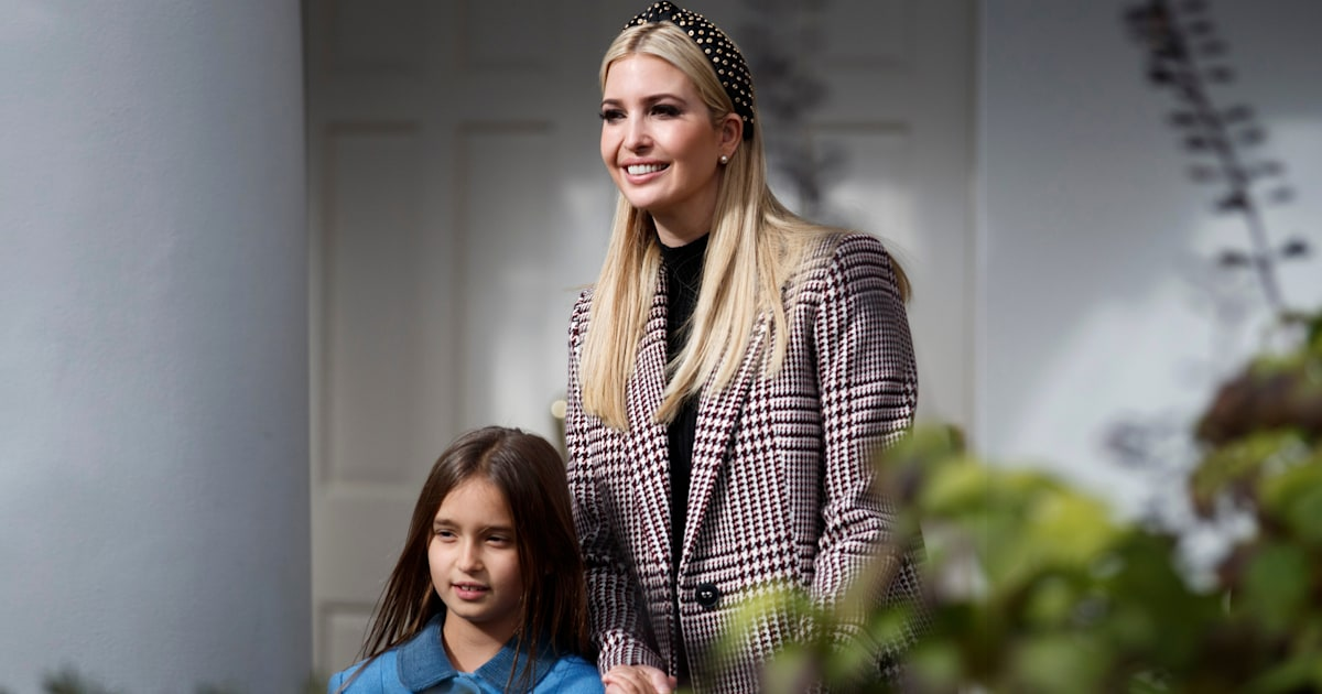 Ivanka Trump shares update after daughter hits her head in scary fall