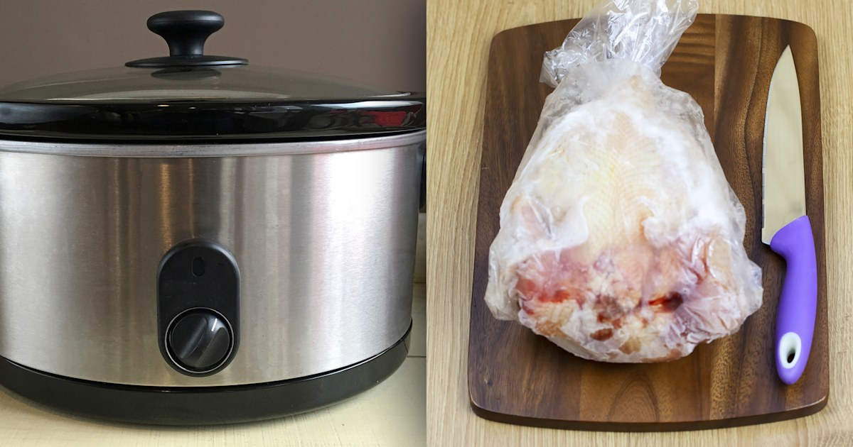 Food myths: Safe to cook frozen chicken in a Crock-Pot?
