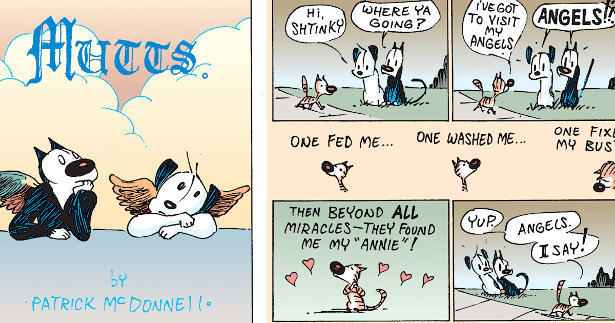 'Mutts' is 25! How the comic strip helped pet adoption go mainstream