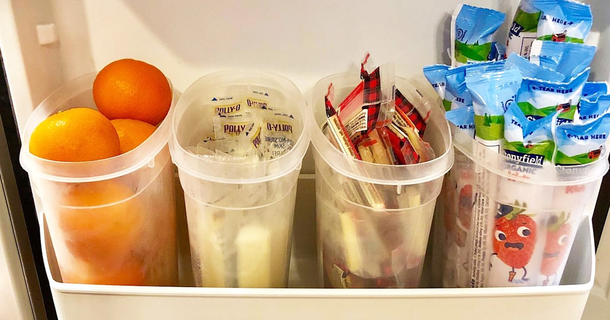 This mom posted a very simple fridge hack — and she's shocked it went viral