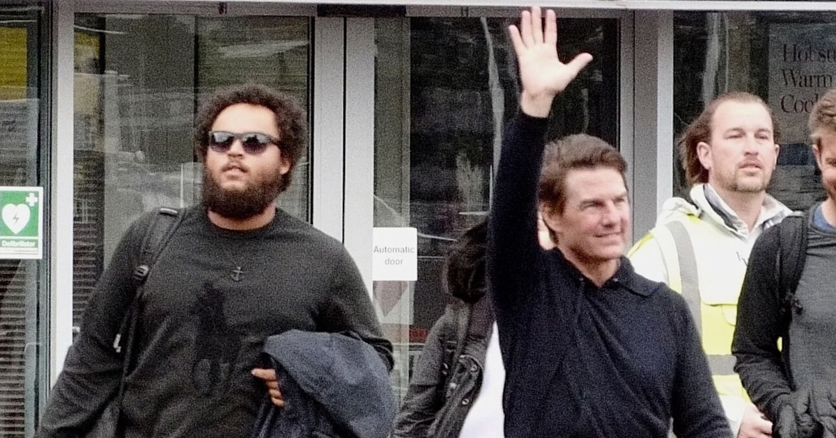 Tom Cruise and 24-year-old son Connor make rare public appearance together