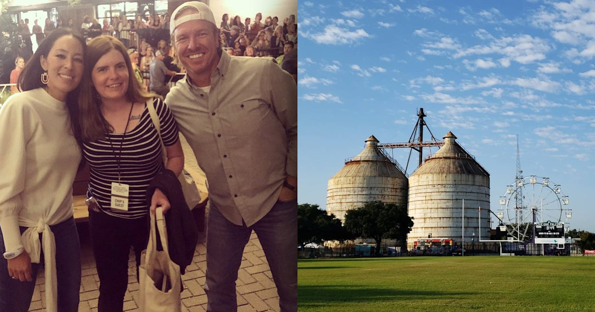 Android apple internet web dark web Chip and Joanna Gaines celebrate their fifth annual Silobration — see the cute pics thumbnail