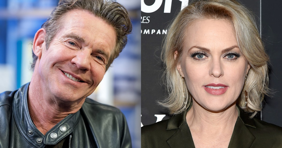 'Parent Trap' actress has funny response to co-star Dennis Quaid's engagement