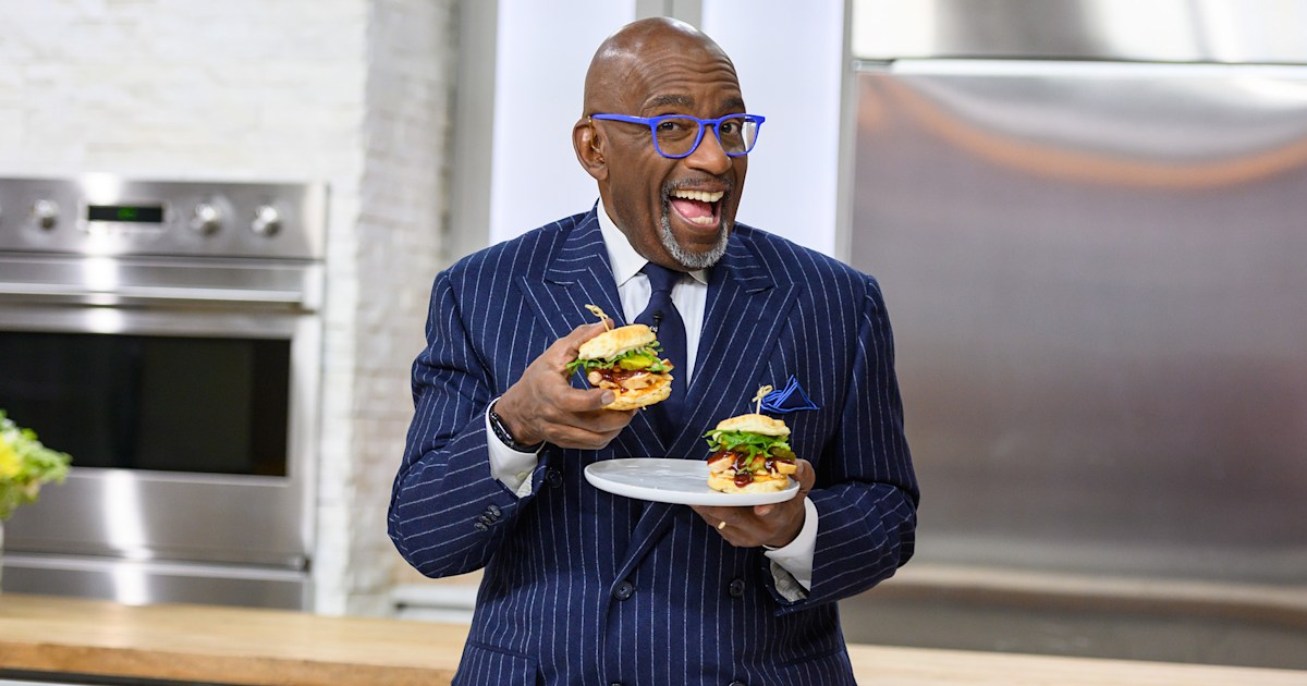 Al Roker and Natalie Morales design new menu items for the TODAY Cafe