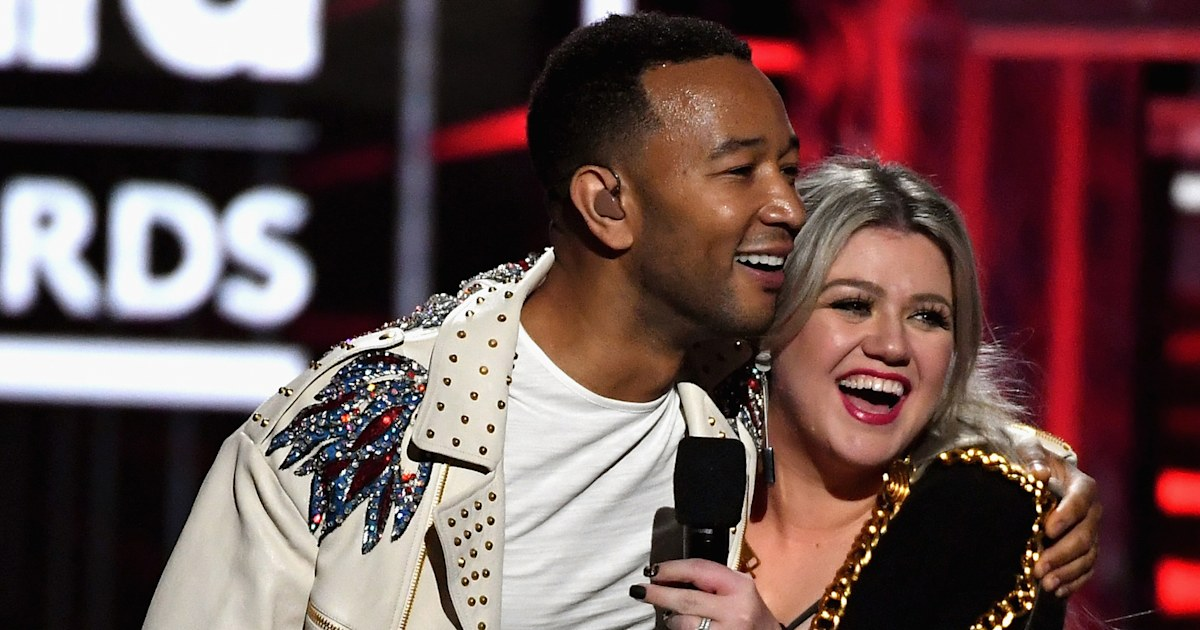 John Legend and Kelly Clarkson record duet of 'Baby, It's Cold Outside' with updated lyrics