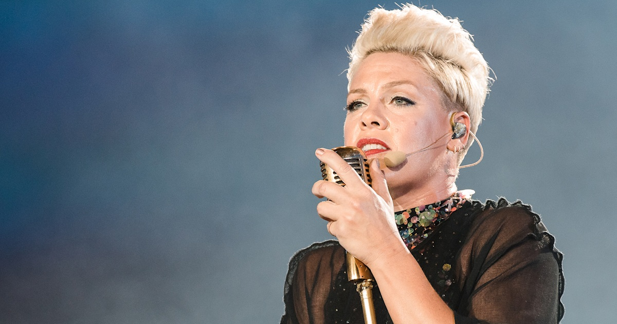 Pink says it's 'impossible at times' to be a mom who tours