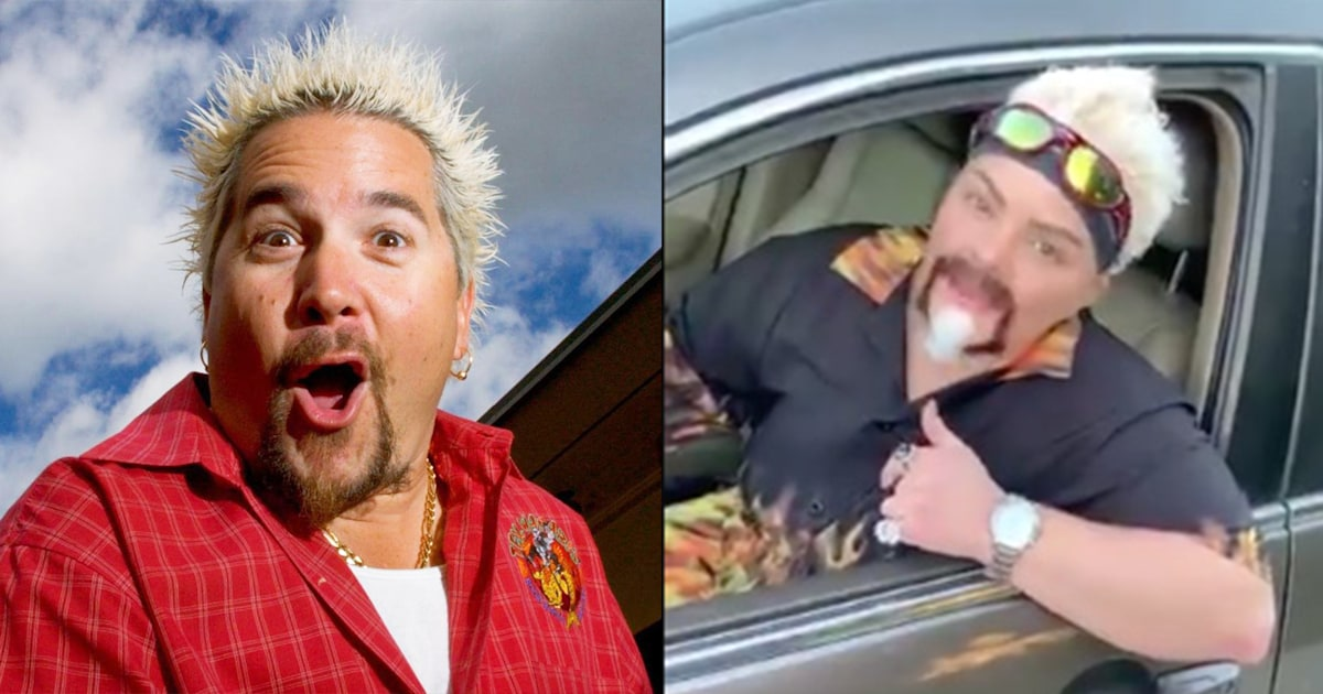 Guy Fieri is loving how many people dress up as him for Halloween