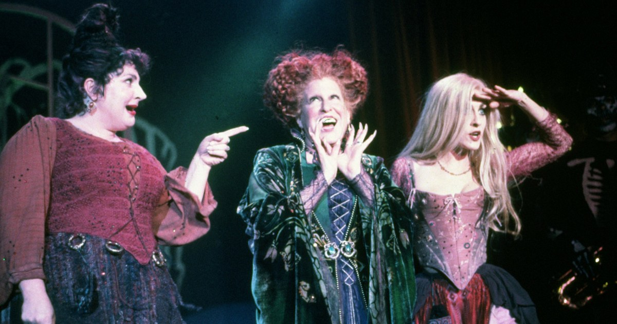 Bette Midler shares 1st look of 'Hocus Pocus' reunion with Sarah Jessica Parker, Kathy Najimy