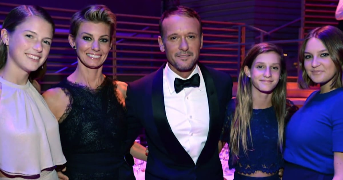 Tim McGraw gushes about his 3 daughters with Faith Hill